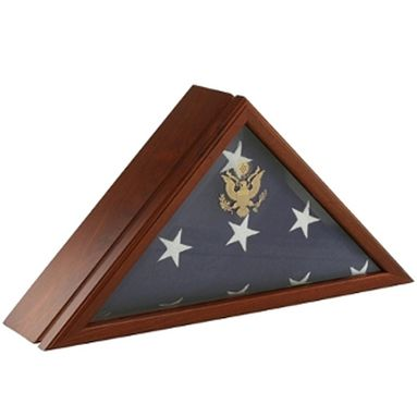 Custom Made Eternity Flag Case And Urn