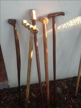 Custom Made Walking Sticks Or Canes