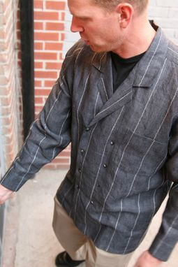 Custom Made Double-Breasted Men's Shirtjacket