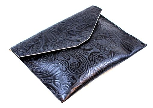 Custom Made Palermo Leather Envelope Clutch