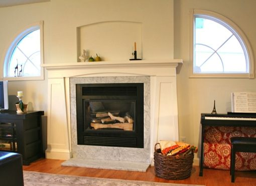 Custom Made Fireplace Mantel & Surround