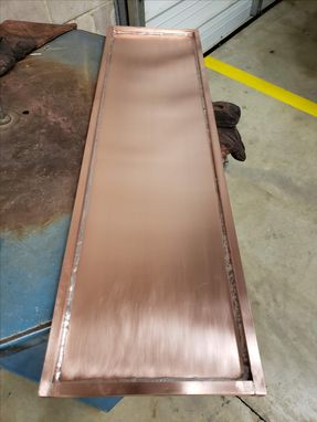 Custom Made Copper Serving Tray