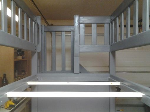 Custom Made Bunk Bed With Storage