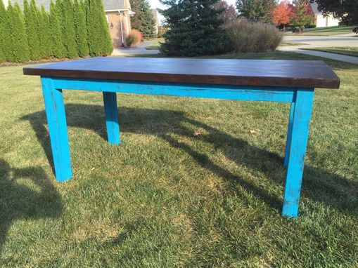 Custom Made Retro Farm Table