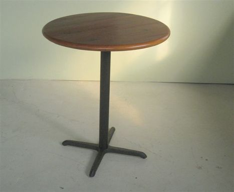 Custom Made Bar Table With Bar Stools