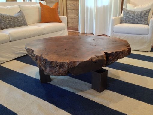 Custom Made Slab Coffee Table