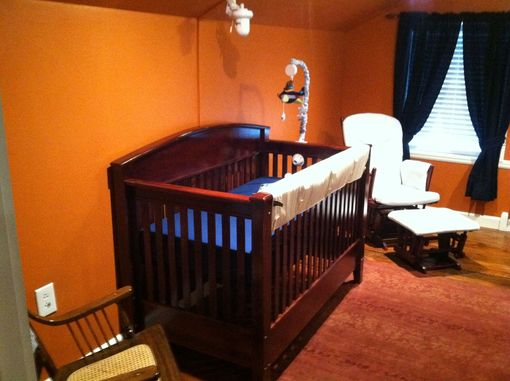 Custom Made 3-In-1 Crib, Toddler Bed, Full Size Bed