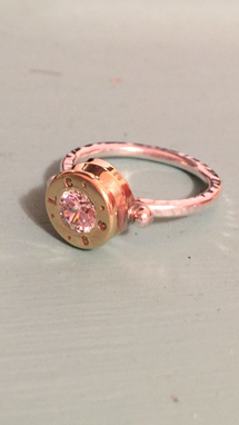 Custom Made Ammo Bullet Ring