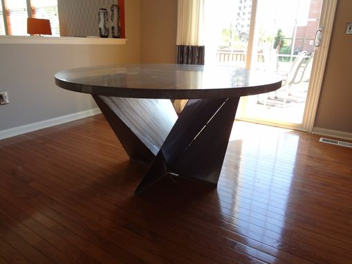 Custom Made Dining Room Table, Kitchen Table