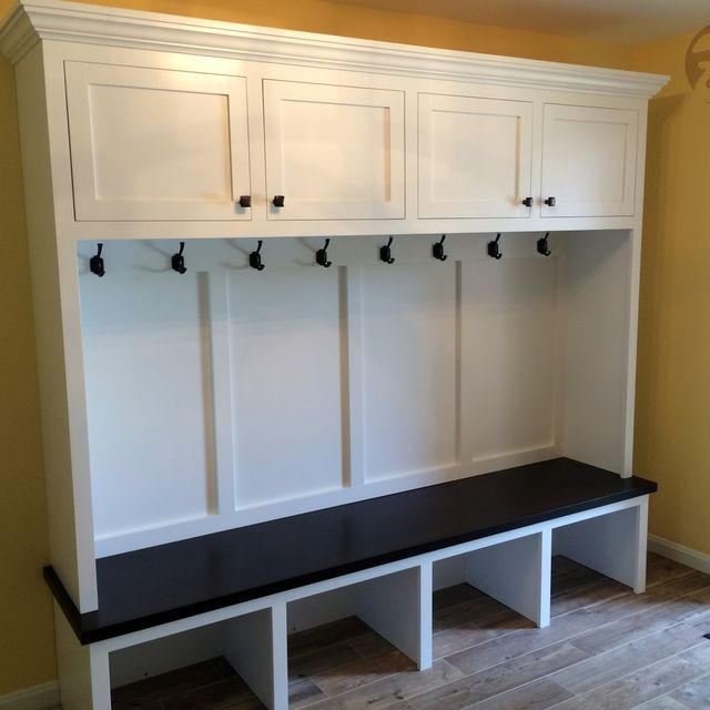Handmade Mudroom Entryway Bench And Storage By Boltonwoodworking Custommade
