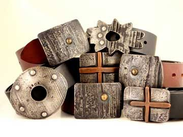 Custom Made Hand-Forged Belt Buckles, Limited Edition