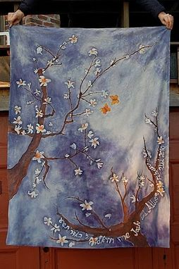 Custom Made Almond Blossom Chuppah/Wall Hanging