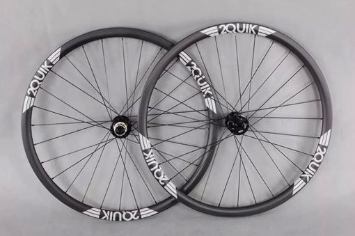 "Custom Made 26"" 28mm Mtb Carbon Wheelset"