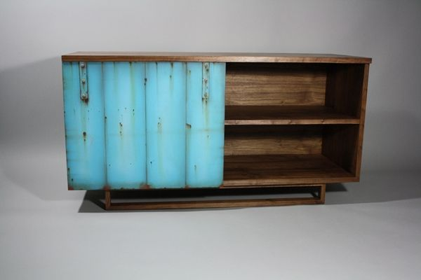 Handmade Tv Cabinet Credenza by Wheelers Studio Inc. | CustomMade.com