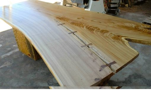 Custom Made Siberian Elm Dining Table