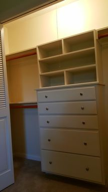 Custom Made Closet Built-Ins
