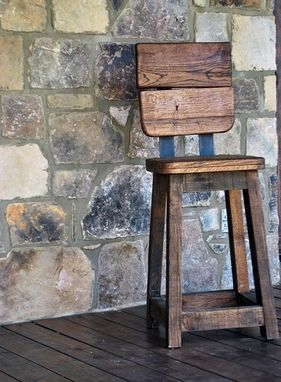 Custom Made Tuscan Kitchen Bar Stools