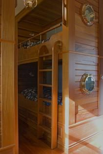 Custom Made Nautical Bunk Beds