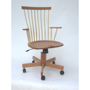 Custom Made Contemporary Windsor Office Chair