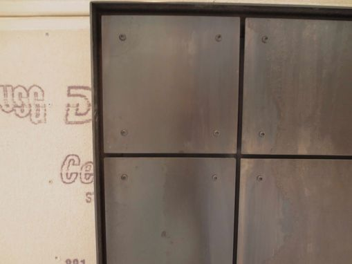 Custom Made Decorative Panel – Steel