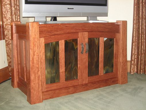 Custom Made Bubings Tv Stand