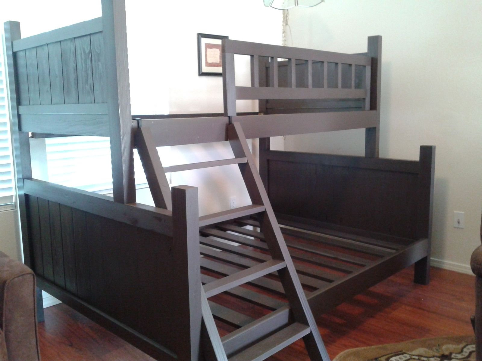 Custom Bunk Bed Pottery Barn Style By Treasure Valley Woodcrafts