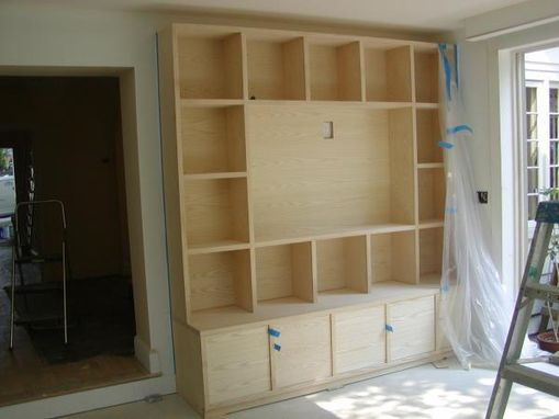 Custom Made Art Display Cabinets