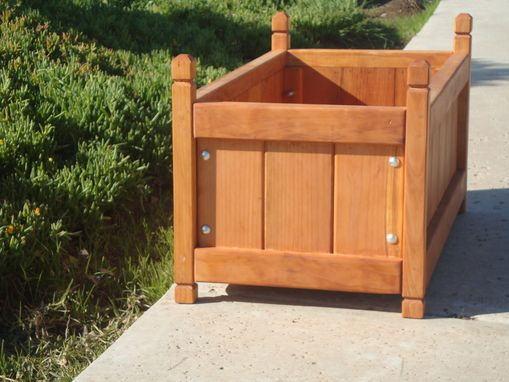Custom Made Solid Planter Box