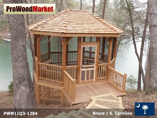 Custom Made Gazebo On Lake Keowee