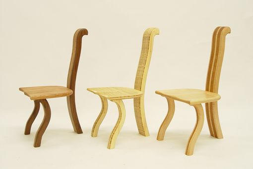 Custom Made Curchairra 3 Leged Chair