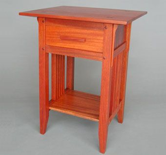 Custom Made Arts & Crafts Night Stand