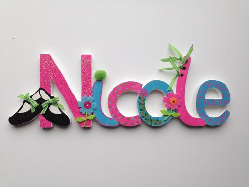 Custom Made Wooden Names