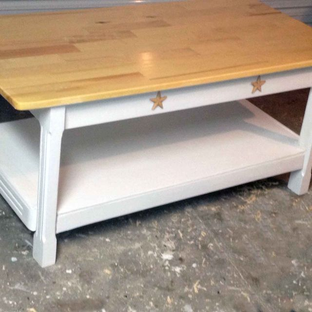 Custom Country Style Coffee Table By All Solid Wood Furniture Custommade Com