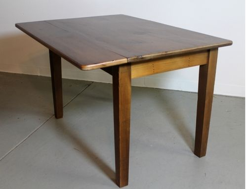 Custom Made Small Farmhouse Drop Leaf Table