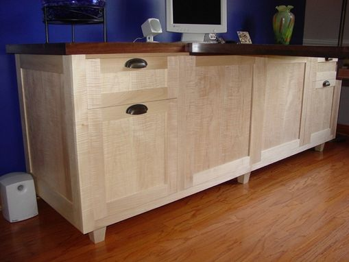 Custom Made Credenza/Work Station