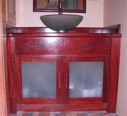 Custom Made Buit-In Bathroom Vanity