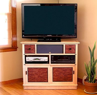 Custom Made Tansu Television Cabinet
