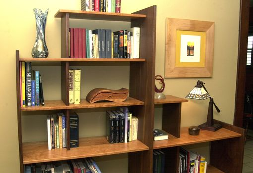 Custom Made Geometry Bookcase