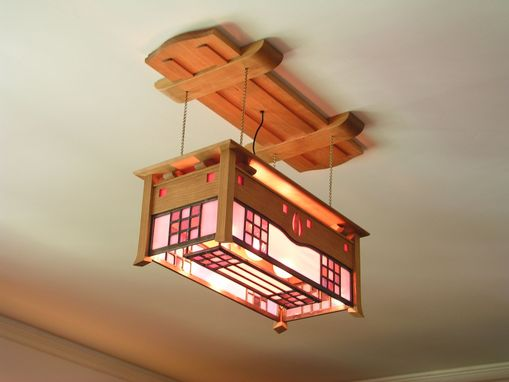 Custom Made Glasgow Style Ceiling Light