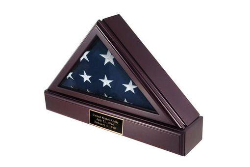 Custom Made Retirement Flag Cases For Military And Public Service Personnel