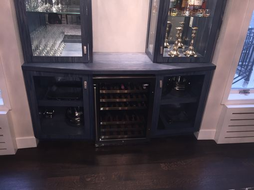 Custom Made Custom Solid Sessile Oak Bar