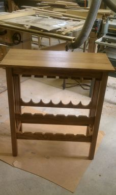 Custom Made Vintner's Wine Valet