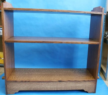 Custom Made Greene And Greene Inspired Open Back Bookcase