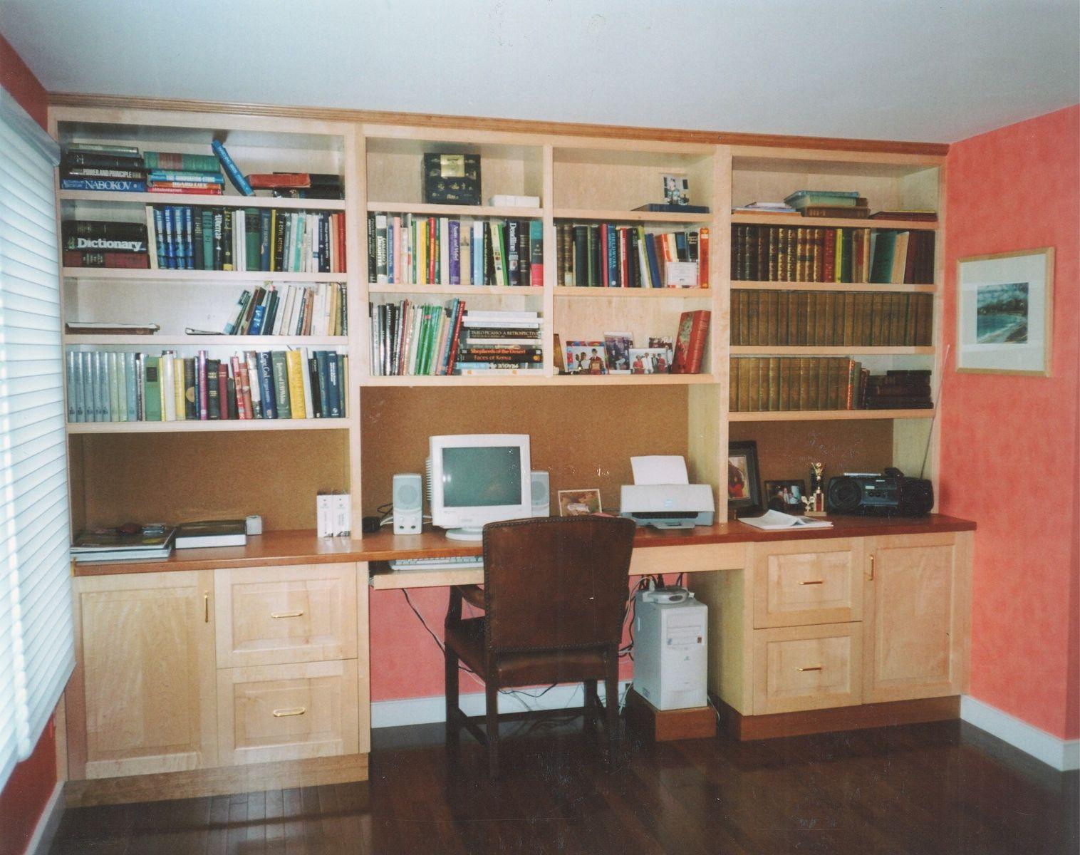 Custom Made Home Office Desk System
