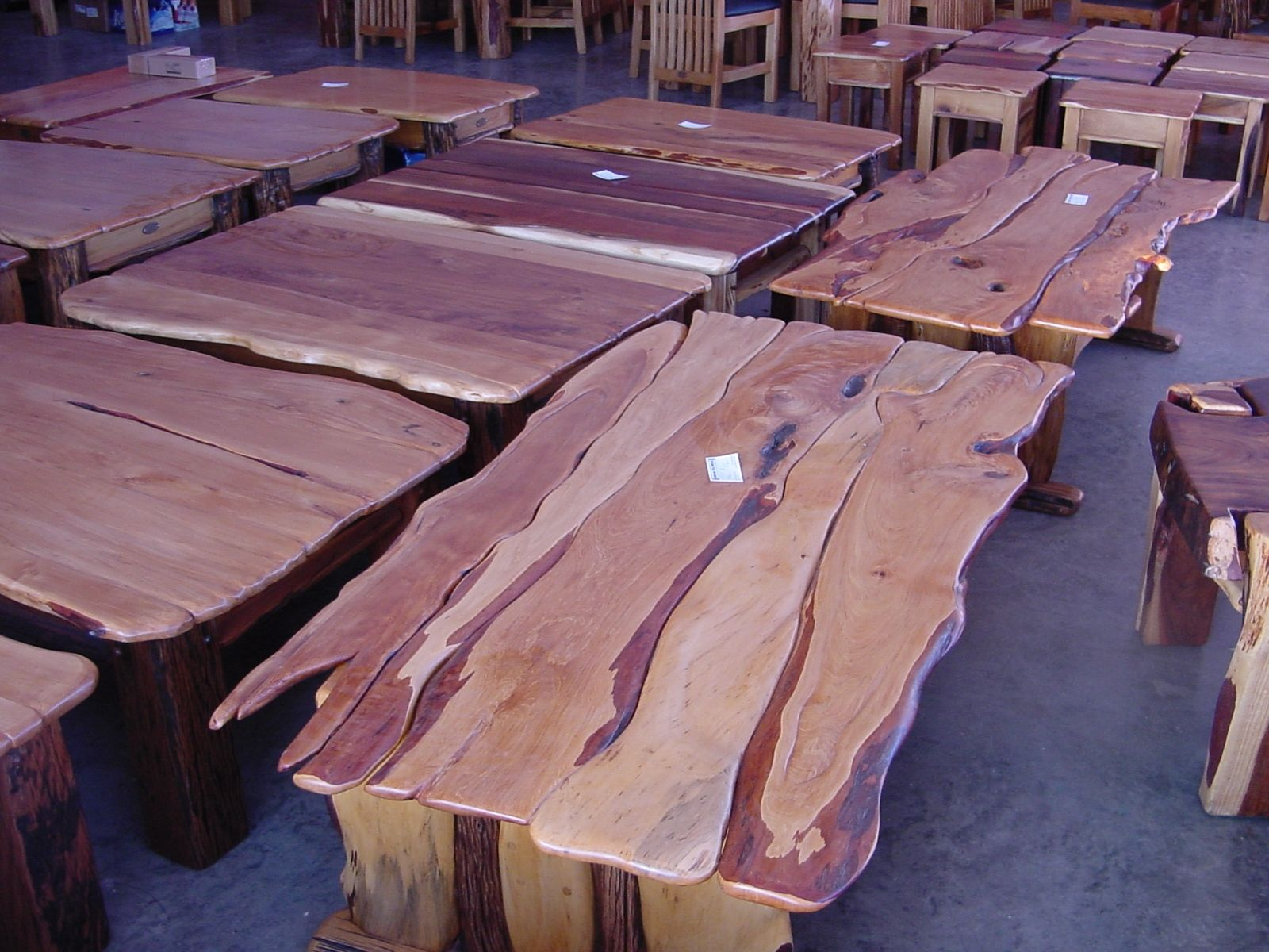 Handmade Custom Coffee Tables by African Yellowood