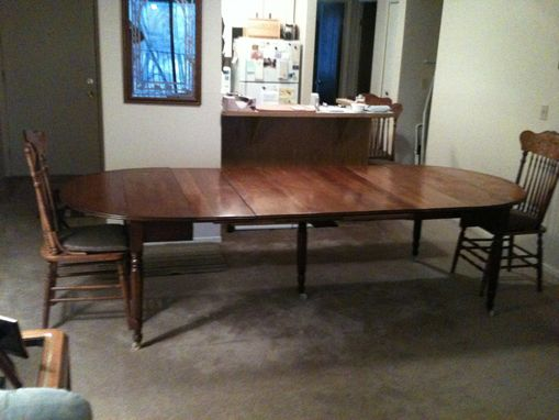 Custom Made Replacement Of Five (5) Table Leaves To A Family Antique Dining Table