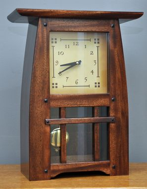 Custom Made Arts & Cradfts (Mission) Mantle Clock