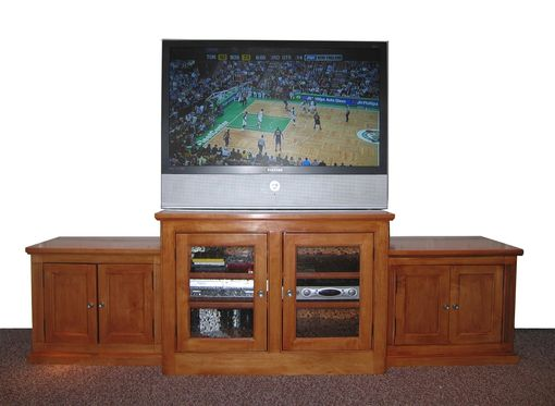 Custom Made Shaker Inspired Entertainment Center