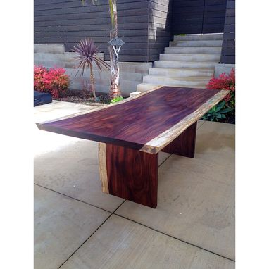 Custom Made Exotic Slab Dining Table