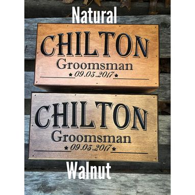 Custom Made Groomsmen Gift Set Of 5 - 13 Gift Boxes